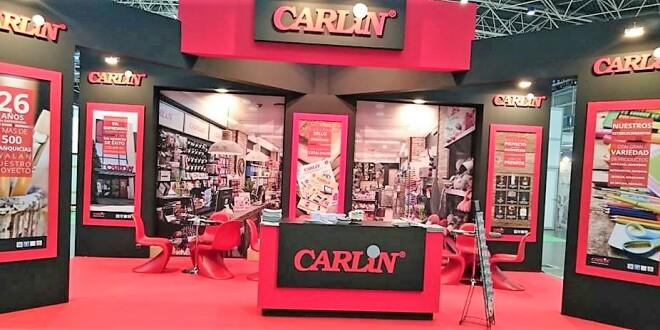 stand de Carlin en el SIF de Valencia 10-10-19