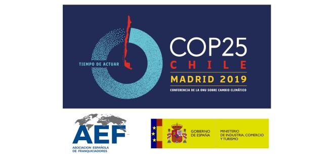 COP25 AEF Ministerio logo cabecera