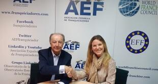 acuerdo comercial AEF-Grupo Nexo Franquicia 13-11-19