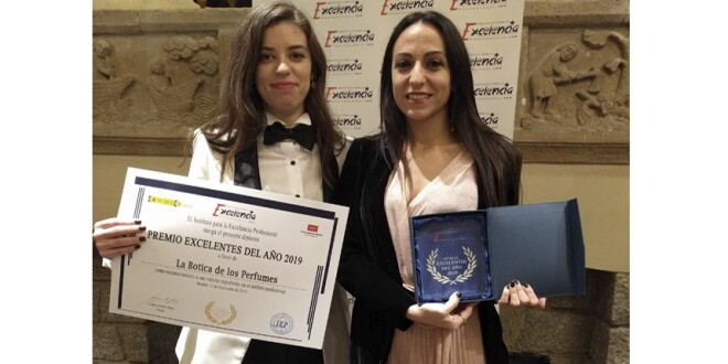 premio EXCELENTES_2019 la botica de los perfumes 19-12-19