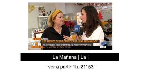 D-uñas en televisión 2 14-1-20