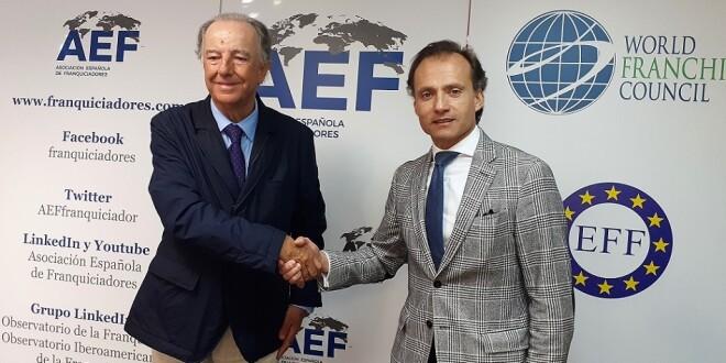 firma del acuerdo AEF-Grupo Metalia 10-1-20