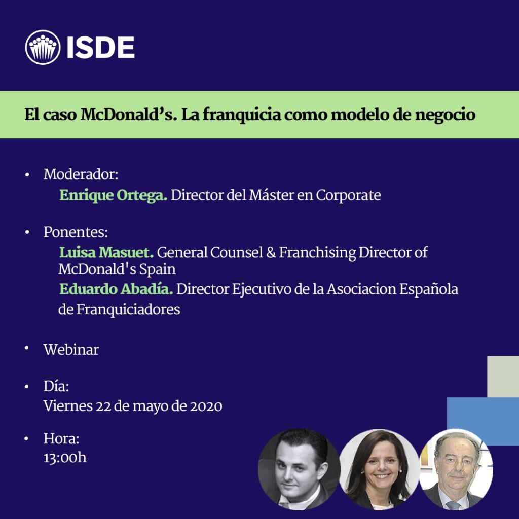 Webinar Enrique Ortega Mcdonalds 22-5-20
