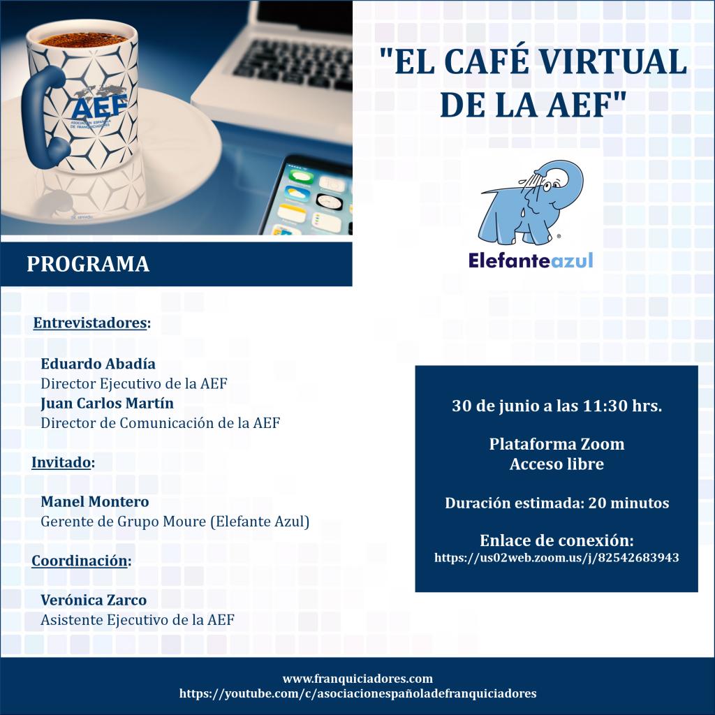 Café Virtual AEF - Elefante Azul
