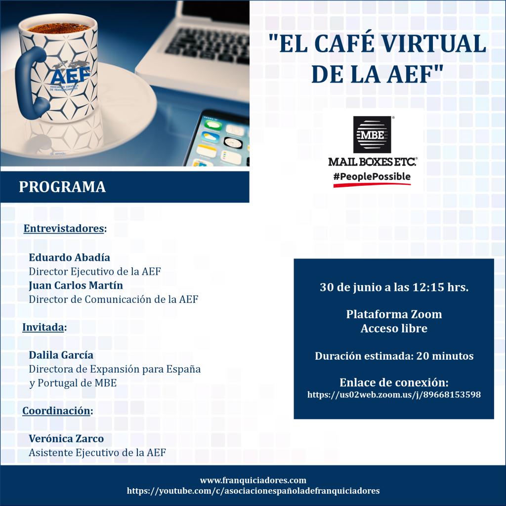 Café Virtual AEF - MBE