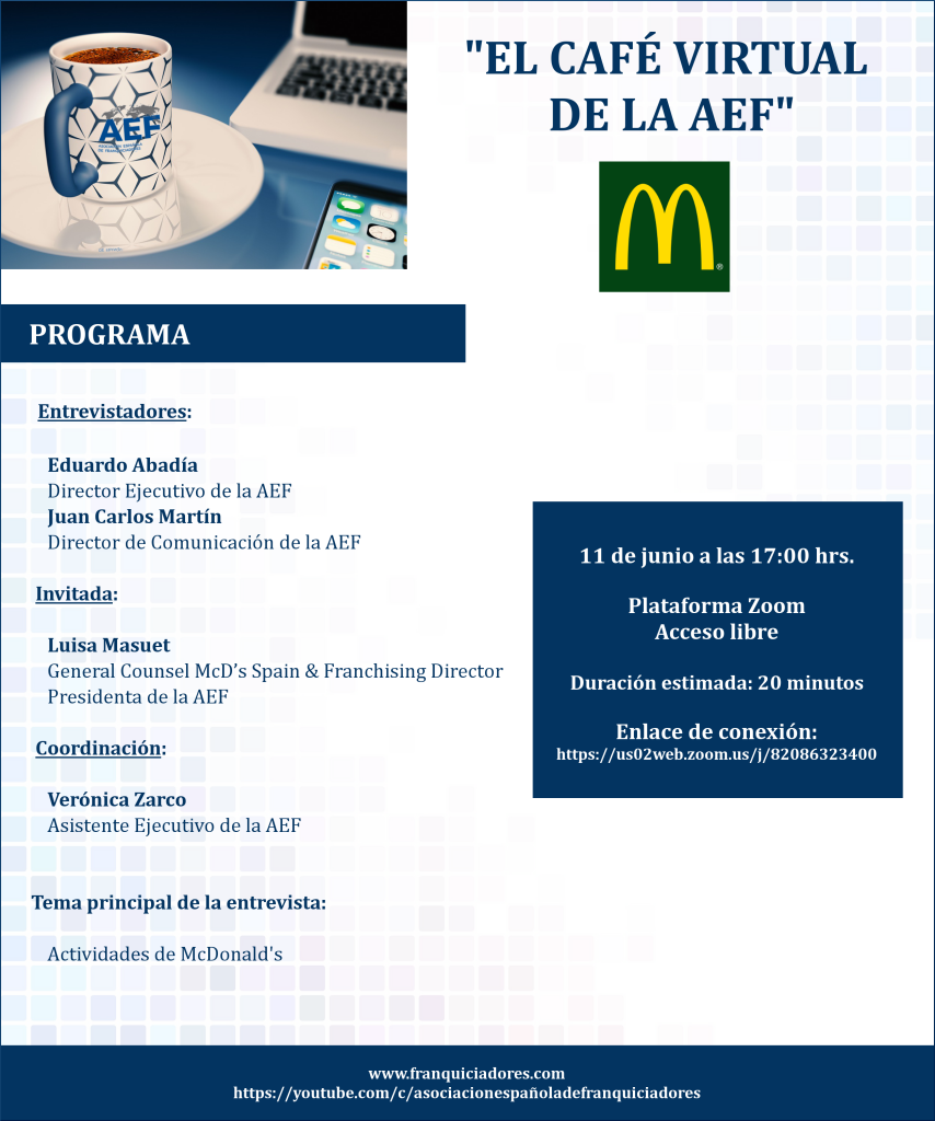 Café Virtual AEF - McDonald's