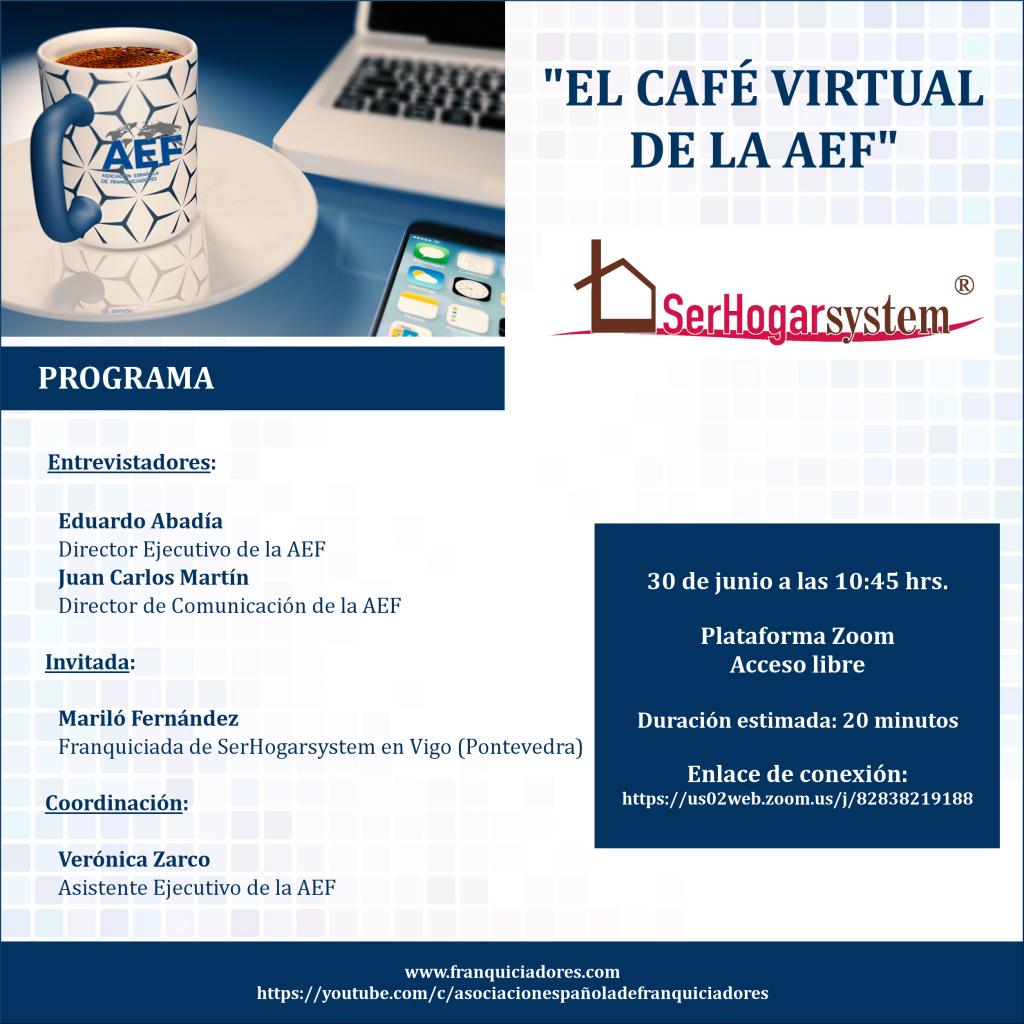 Café Virtual AEF - Serhogar System (franquiciado)