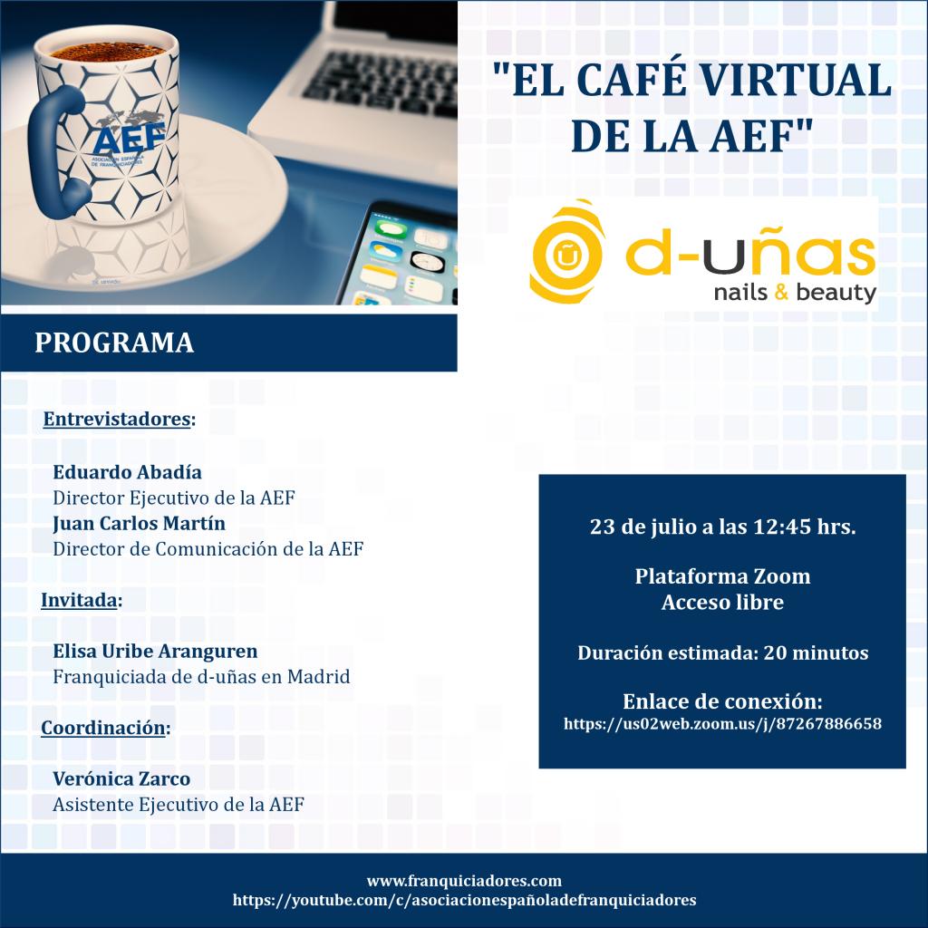 Café Virtual AEF - D-Uñas (franquiciada)