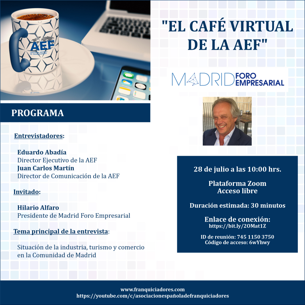 Café Virtual AEF - MFE