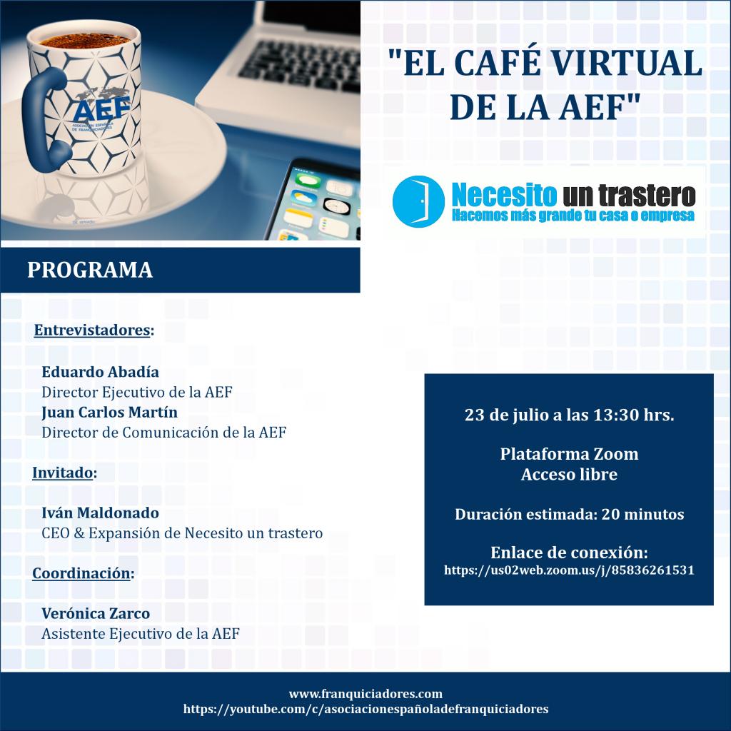 Café Virtual AEF - Necesito un trastero