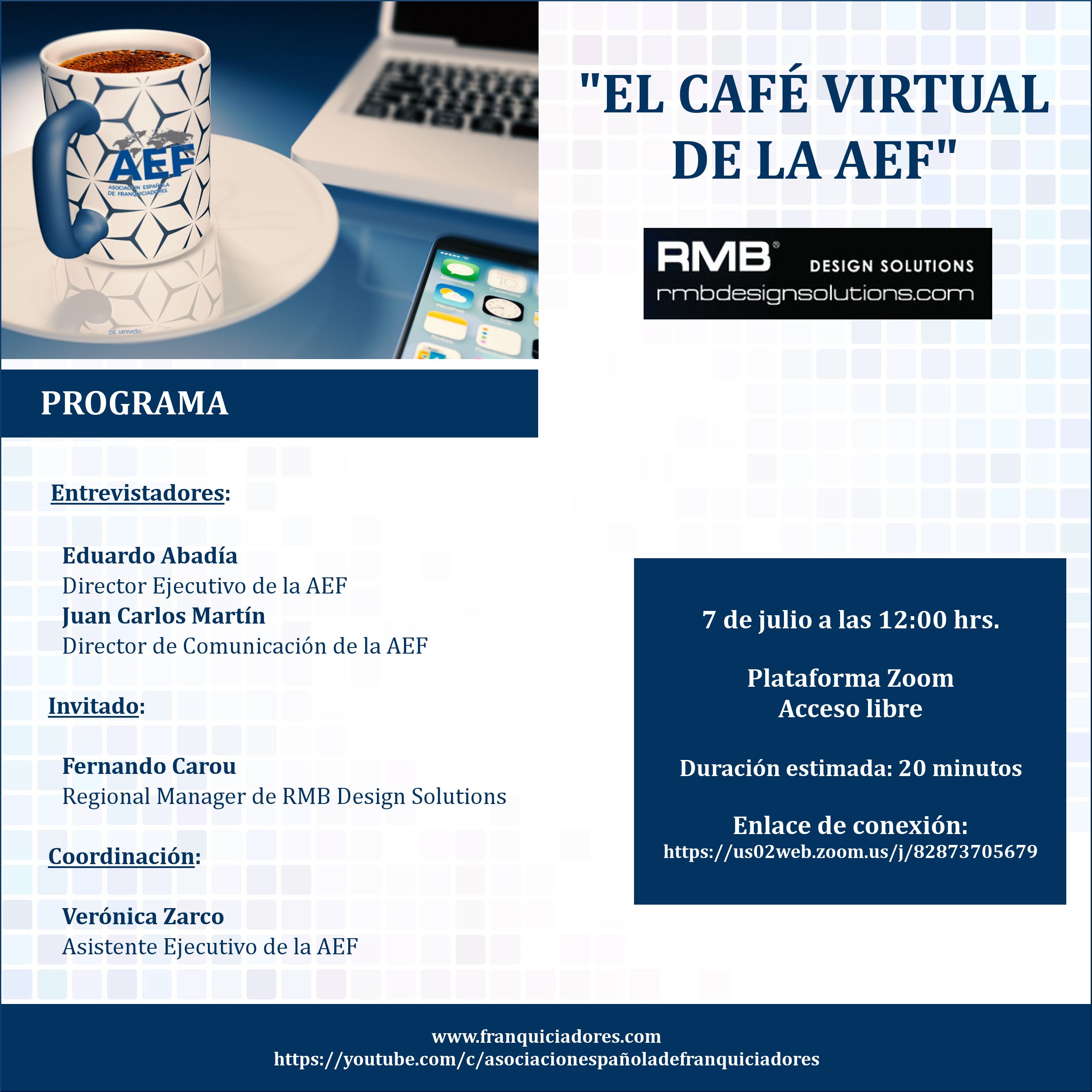 Café Virtual AEF - RMB