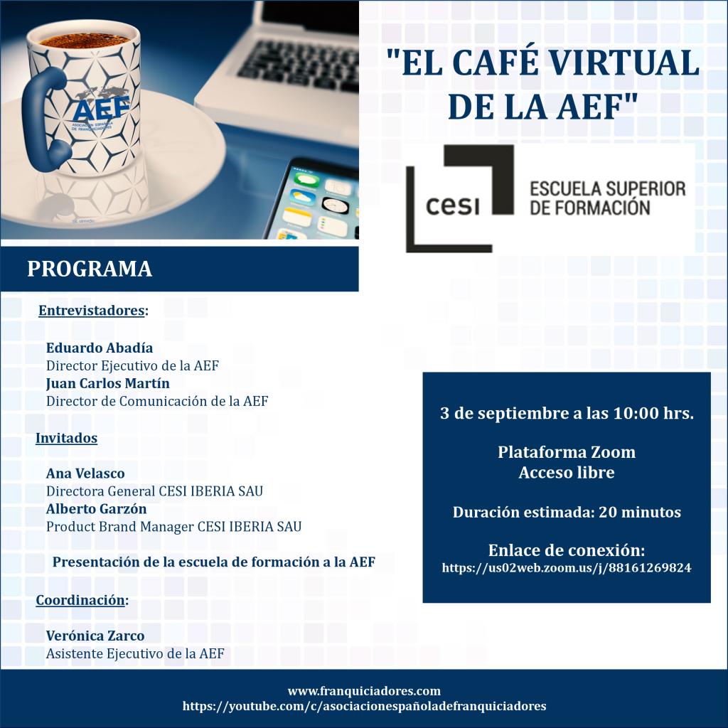 Café Virtual AEF - CESI