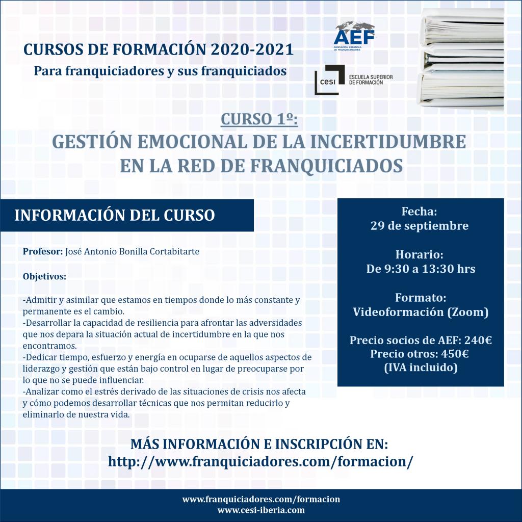 Curso 1 AEF - CESI gestión incertidumbre