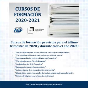 Materias formación AEF-CESI