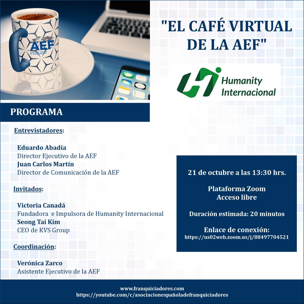 Café Virtual AEF - Humanity y KVS Group