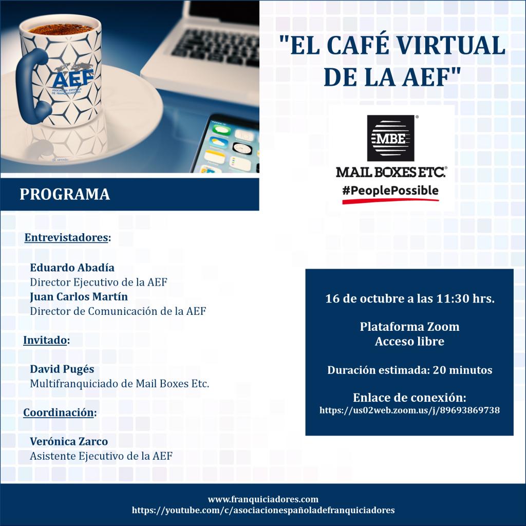 Café Virtual AEF - MBE franquiciado
