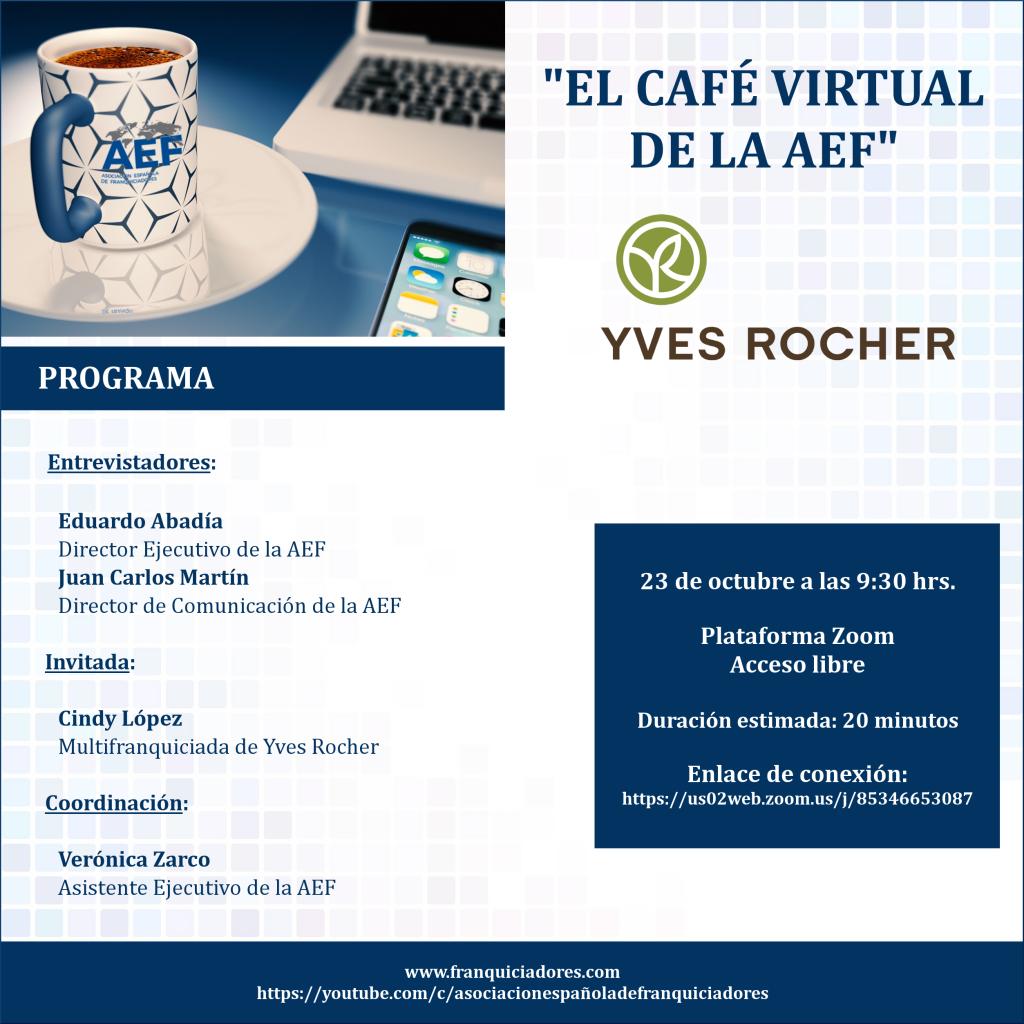 Café Virtual AEF - Yves Rocher franquiciada
