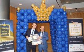 AEF-Philippe-Duchossois-Administrador-Único-e-Íñigo-Ruanes-Director-de-Retail-durante-la-entrega-del-premio