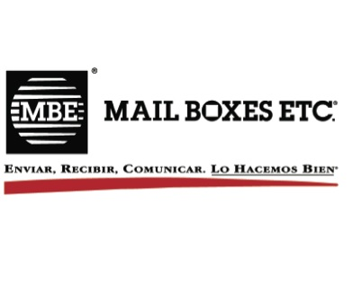 MBE mail boxes logo