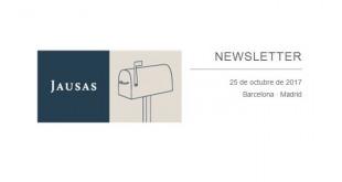 Jausas Newsletter 25-10-17