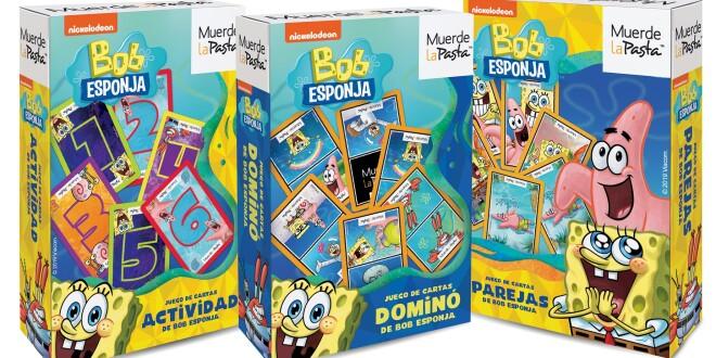 CARTAS DE BOB ESPONJA - MUERDE LA PASTA 17-12-19