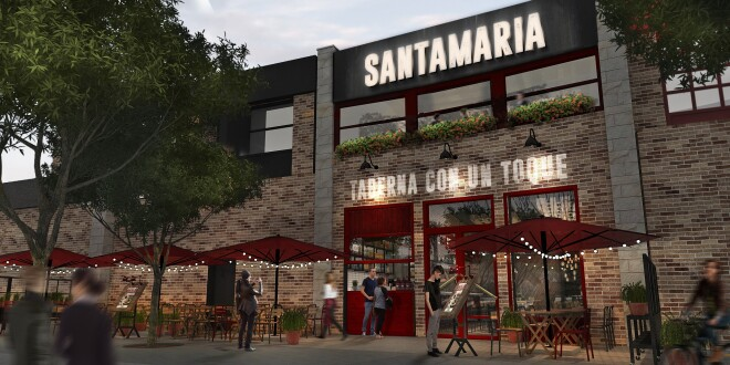 Restaurante Santamaría exterior 9-6-20
