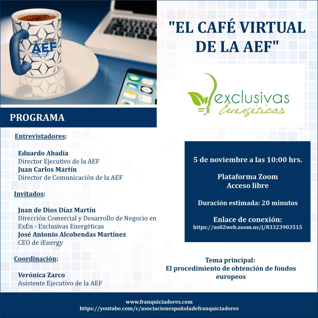 Café Virtual AEF - Exclusivas Energéticas