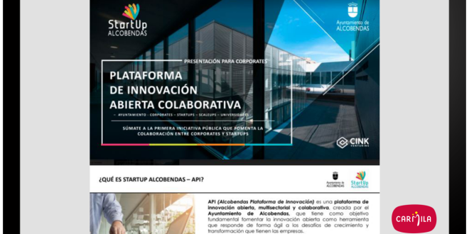 Carmila se suma a la Plataforma de Innovación Colaborativa de Alcobendas 23-10-20