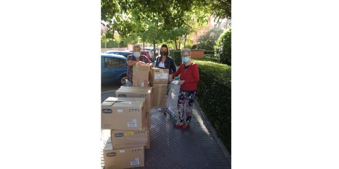 Fersay realiza una donación de productos a madres con necesidades 5-10