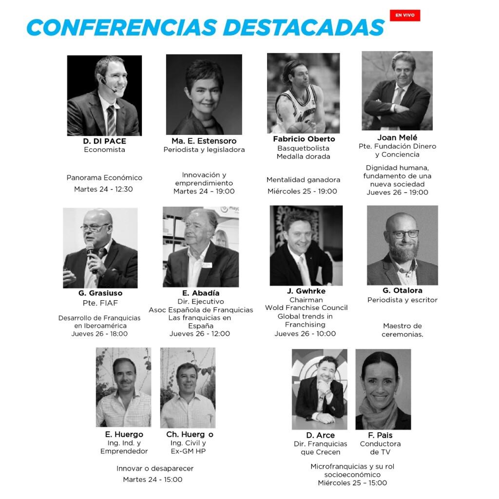 3 Carrousel FERIA - Conferenicas destacadas