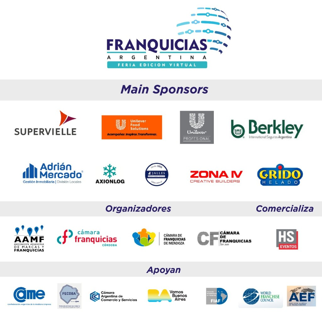 4 Carrousel FERIA - Sponsors
