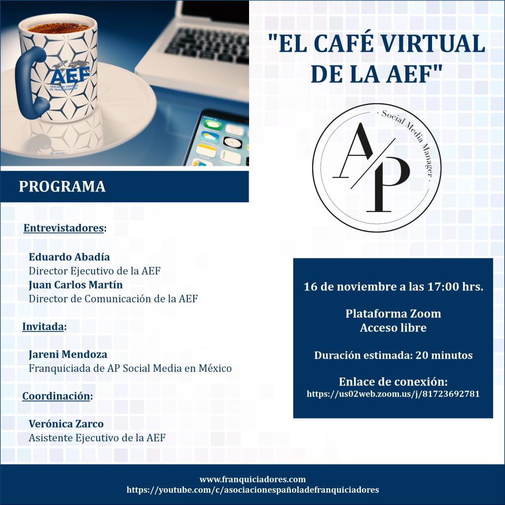 Café Virtual AEF - AP Social Media (franquiciada)