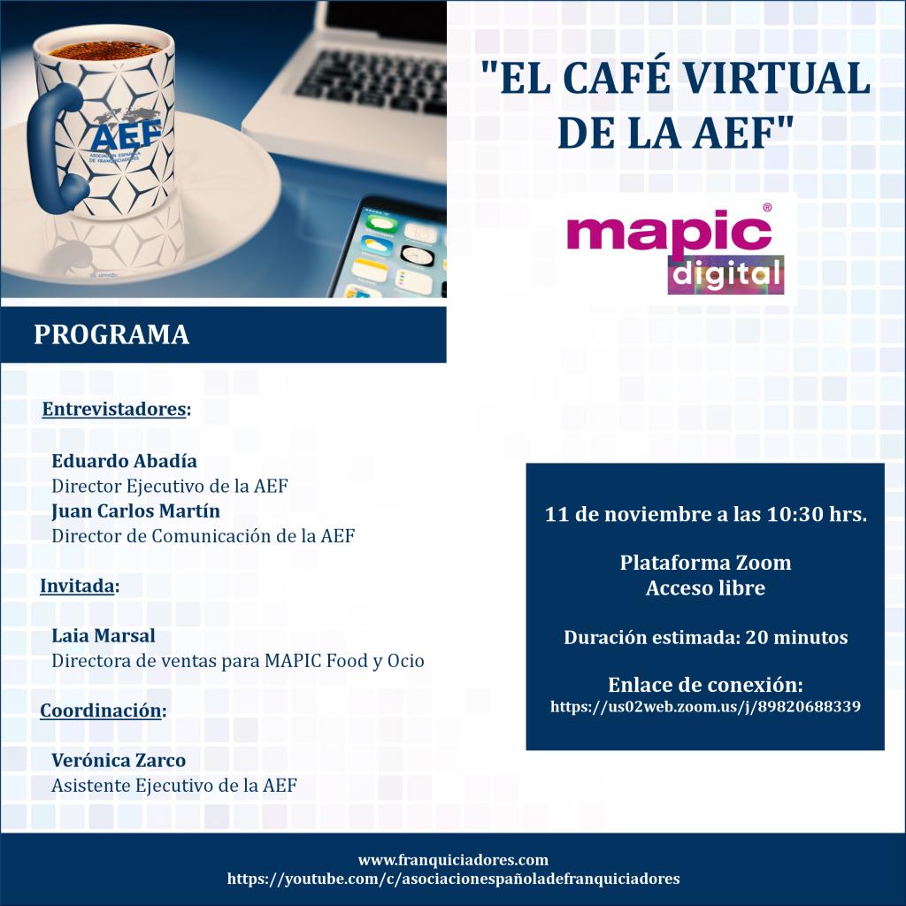 Café Virtual AEF - MAPIC