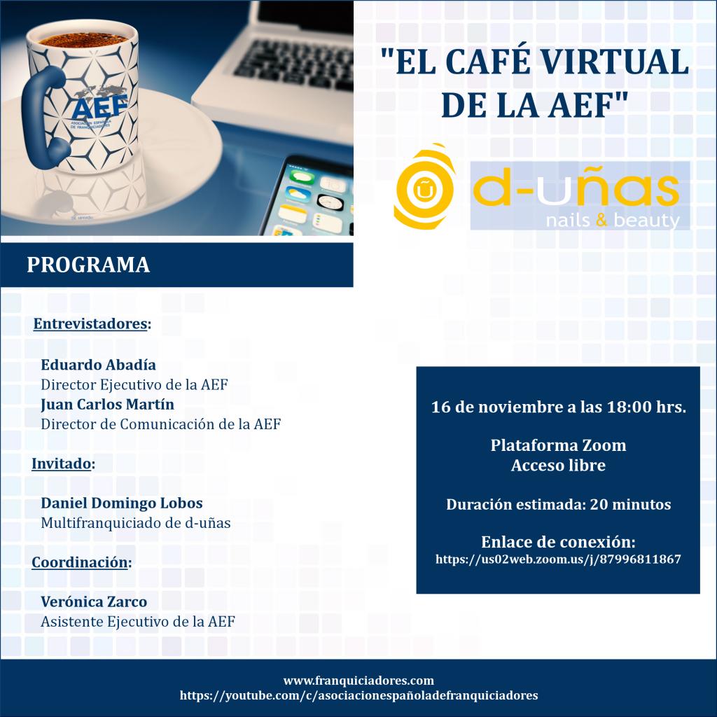 Café Virtual de la AEF - d-uñas (multifranquiciado)