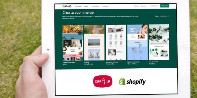 Carmila se alía con Shopify 4-11