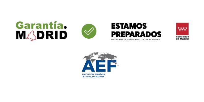 Logotipo Garantia Madrid y AEF