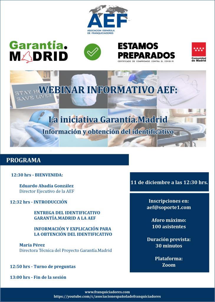 Webinar Garantía.Madrid