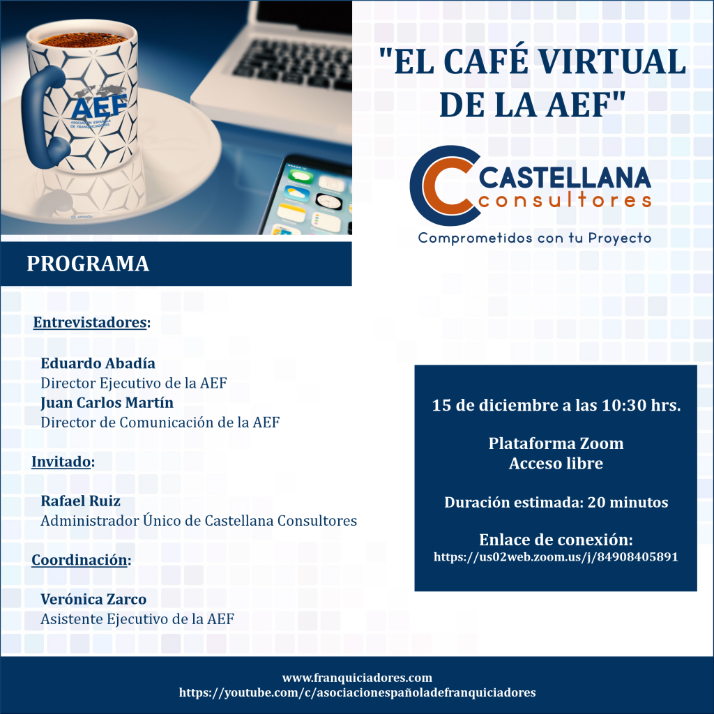 Café Virtual de la AEF - Castellana Consultores