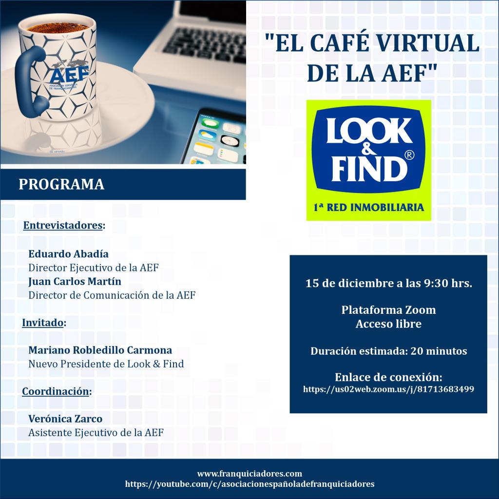 Café Virtual de la AEF - Look and Find