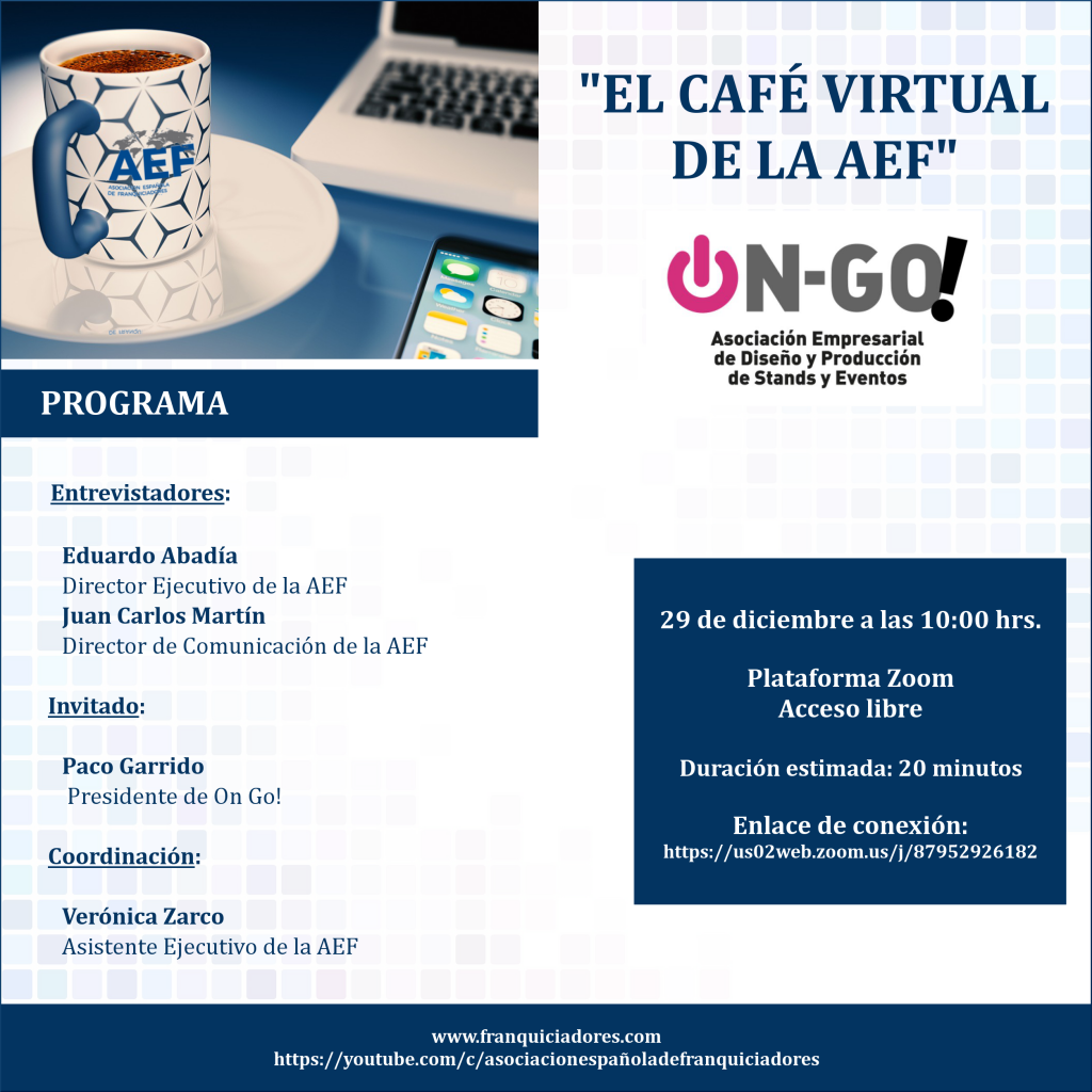 Café Virtual de la AEF - On Go