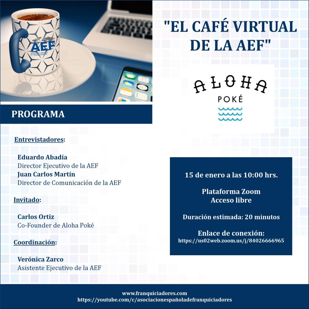 Café Virtual de la AEF - Aloha Poké