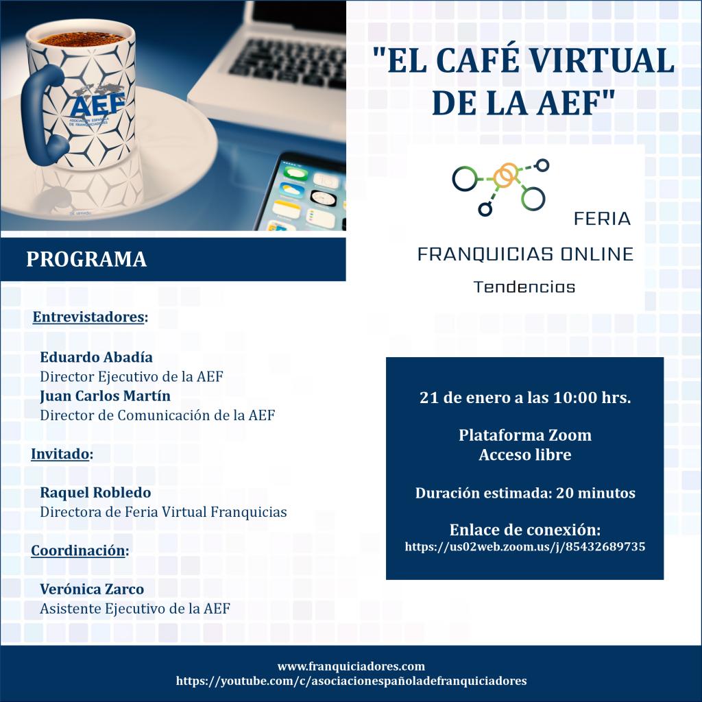 Café Virtual de la AEF - Feria Virtual Franquicias