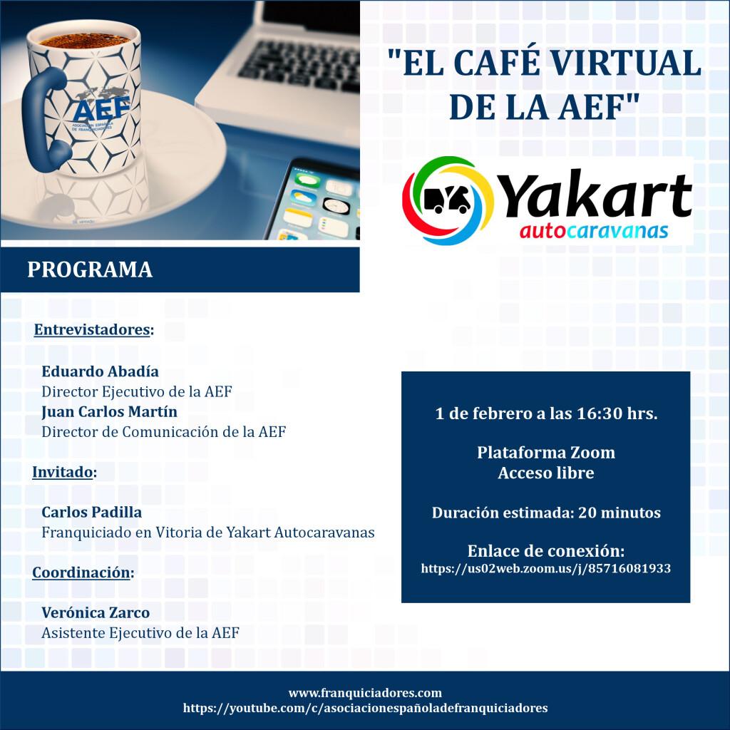Café Virtual de la AEF - Yakart Autocaravanas