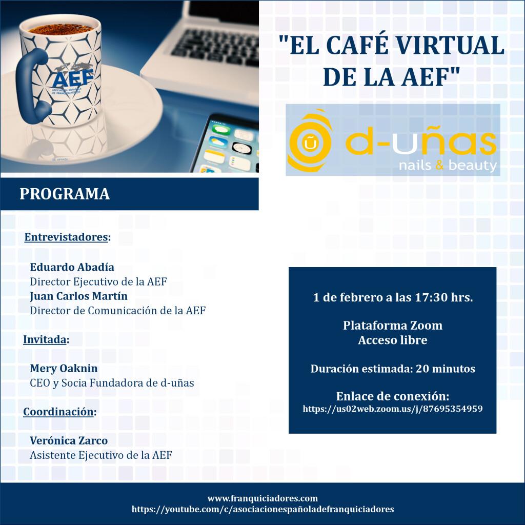 Café Virtual de la AEF - d-uñas