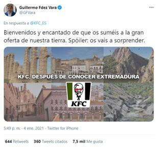 KFC extremadura 5-1 2