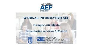 Webinar Servicios AEMadrid cabecera