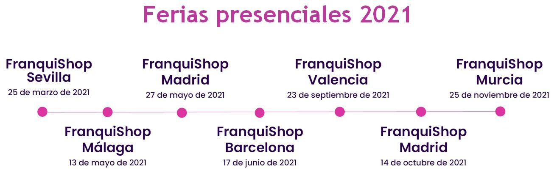 franquishop online calendario