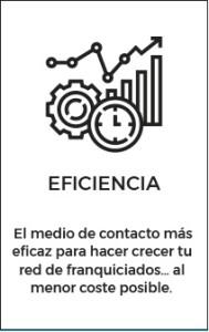 Feria Virtual de Franquicias 5 eficiencia